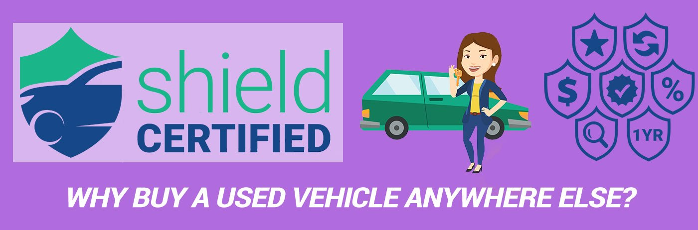 Drive Autogroup Shield Certified Used Vehicle Program. Why would you buy a used vehicle anywhere else?
